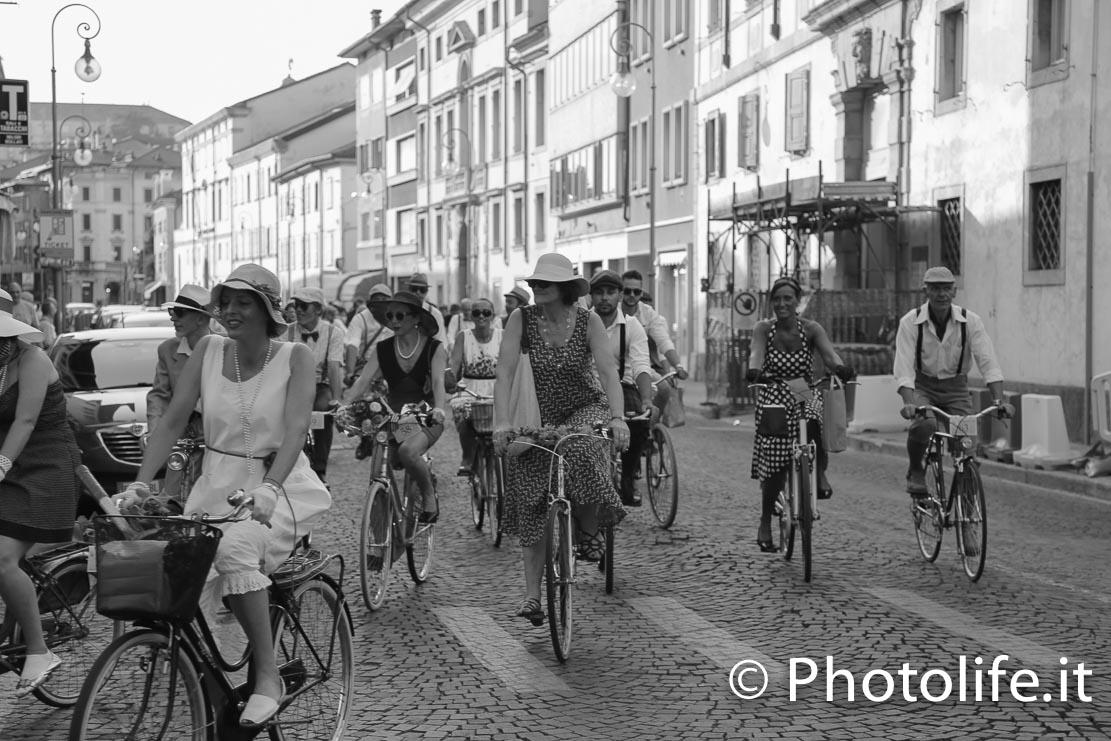 Bici a Udine d'altri tempi
