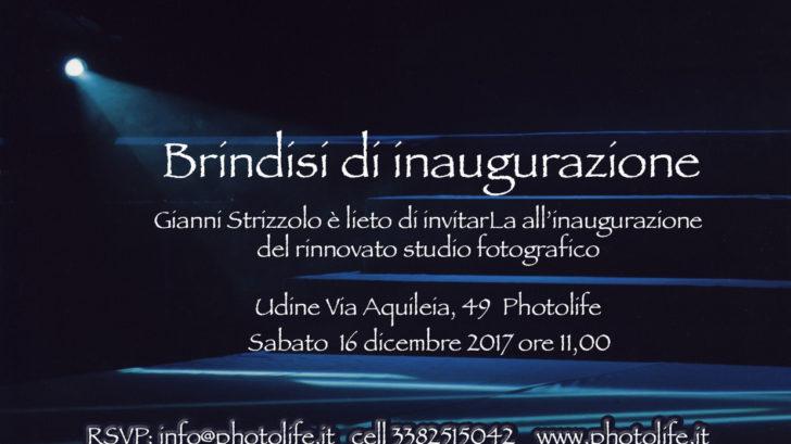 Brindisi di Inaugurazione 2017