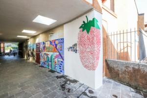 Inaugurati i murales trompe l'oeil
